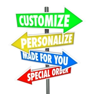 Personalize Order Management
