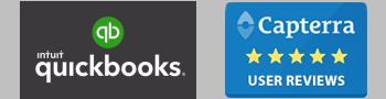 QuickBooks Capterra Logos